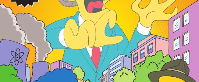 Chegam amanha à banca mais quatro histórias da família Simpson nunca vistas em televisão!Share Esta edição traz-nos uma entrada ilegal […]