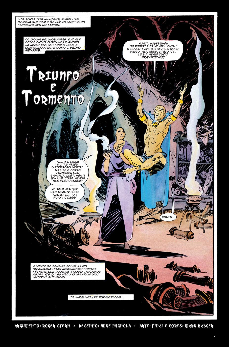 Dr. Estranho e Dr. Destino - Triunfo e Tormento Página 1