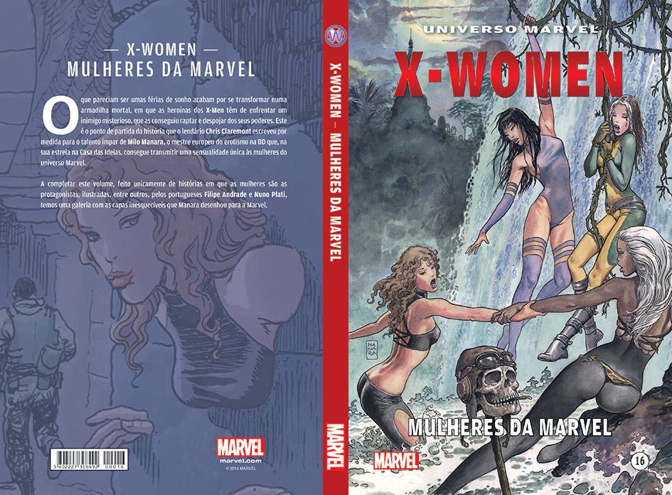 Universo Marvel 16 - X-Women Capa
