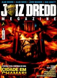 JUIZ DREDD MEGAZINE 2