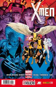 X-MEN 9 capa
