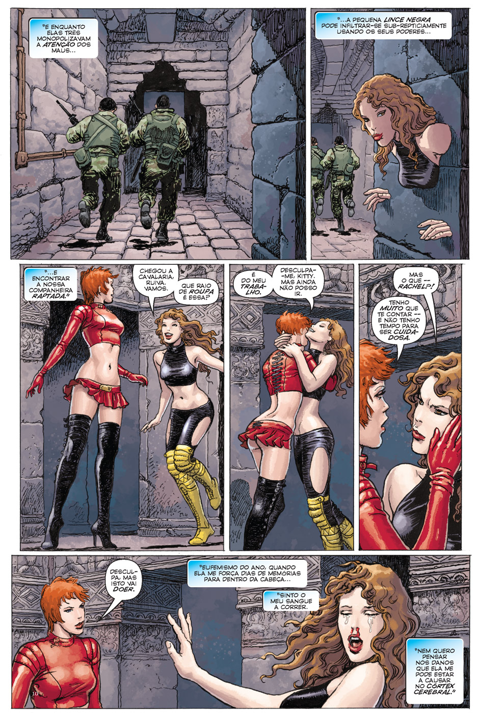 Universo Marvel 16 - X-Women página 4