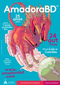 AmadoraBD 2014 - 25.º Festival Internacional de Banda Desenhada