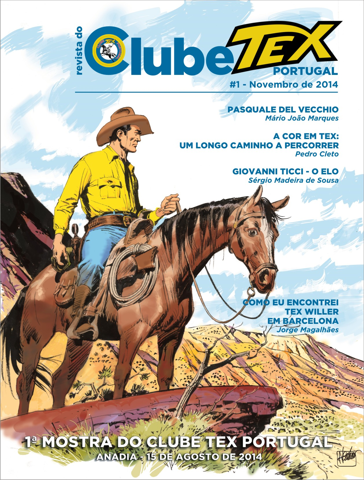 da revista do Clube Tex Portugal da revista do Clube Tex Portugal