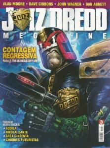 JUIZ DREDD MEGAZINE 3