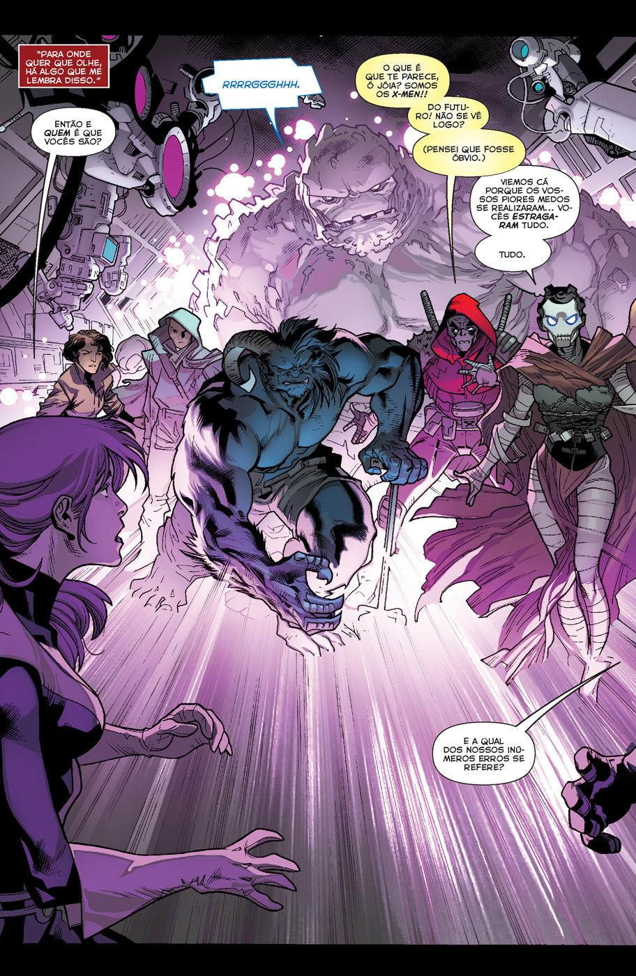 X-MEN #10 página 3