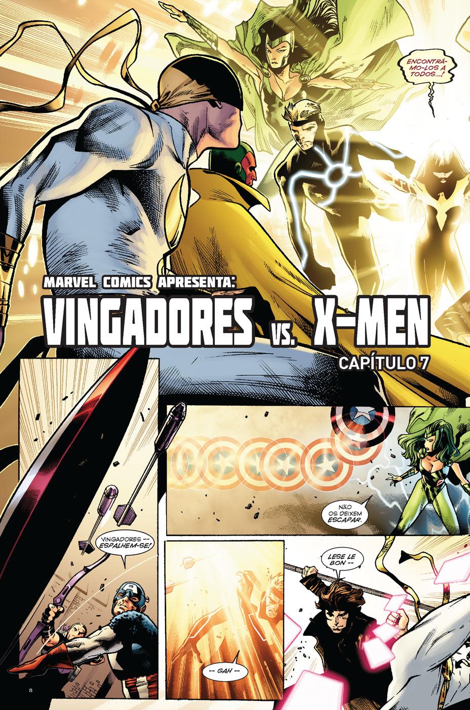 vingadores Vs Xmen 2 - pagina 2