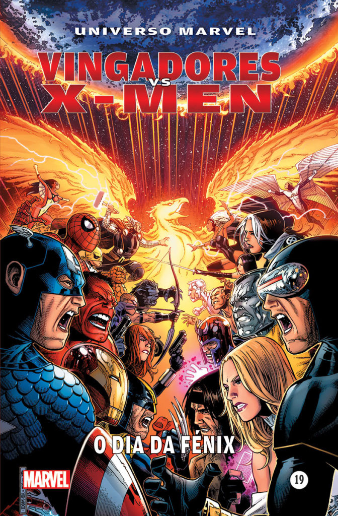 vingadores vs x-men 1 capa