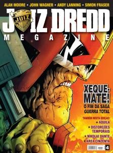 JUIZ DREDD MEGAZINE 4