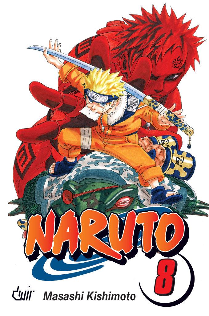 Naruto 08 Combates de Vida ou de Morte