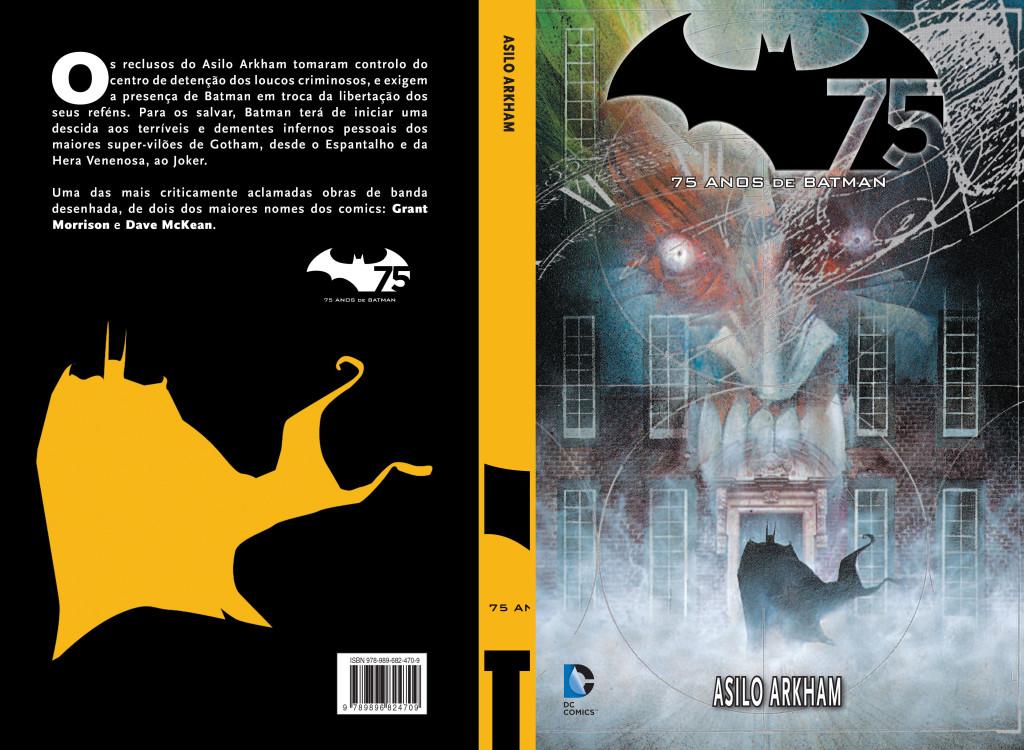 Capa Batman Asilo Arkham