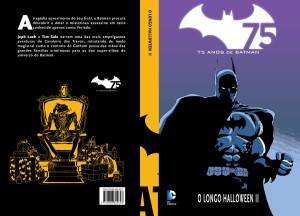 Batman Halloween 2 capa