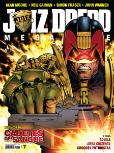 JUIZ DREDD MEGAZINE 7