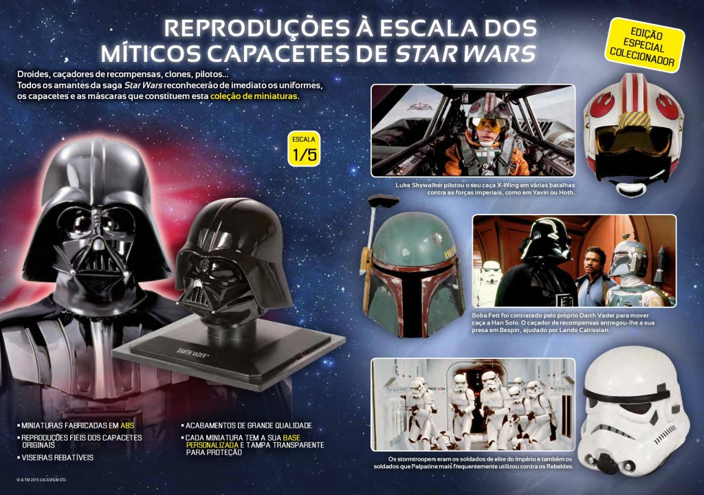Capacetes Star Wars