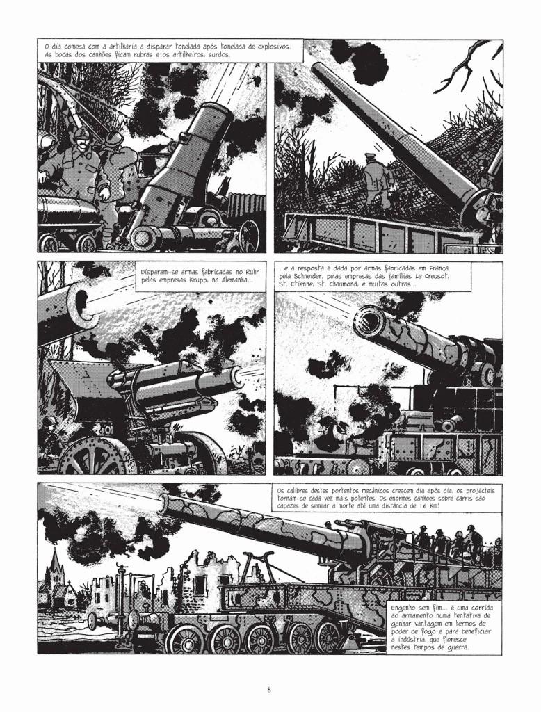 Foi assim a guerra das trincheiras