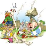 BD: Astérix – O Papiro de César, ANÚNCIO EM BOLONHA 2015