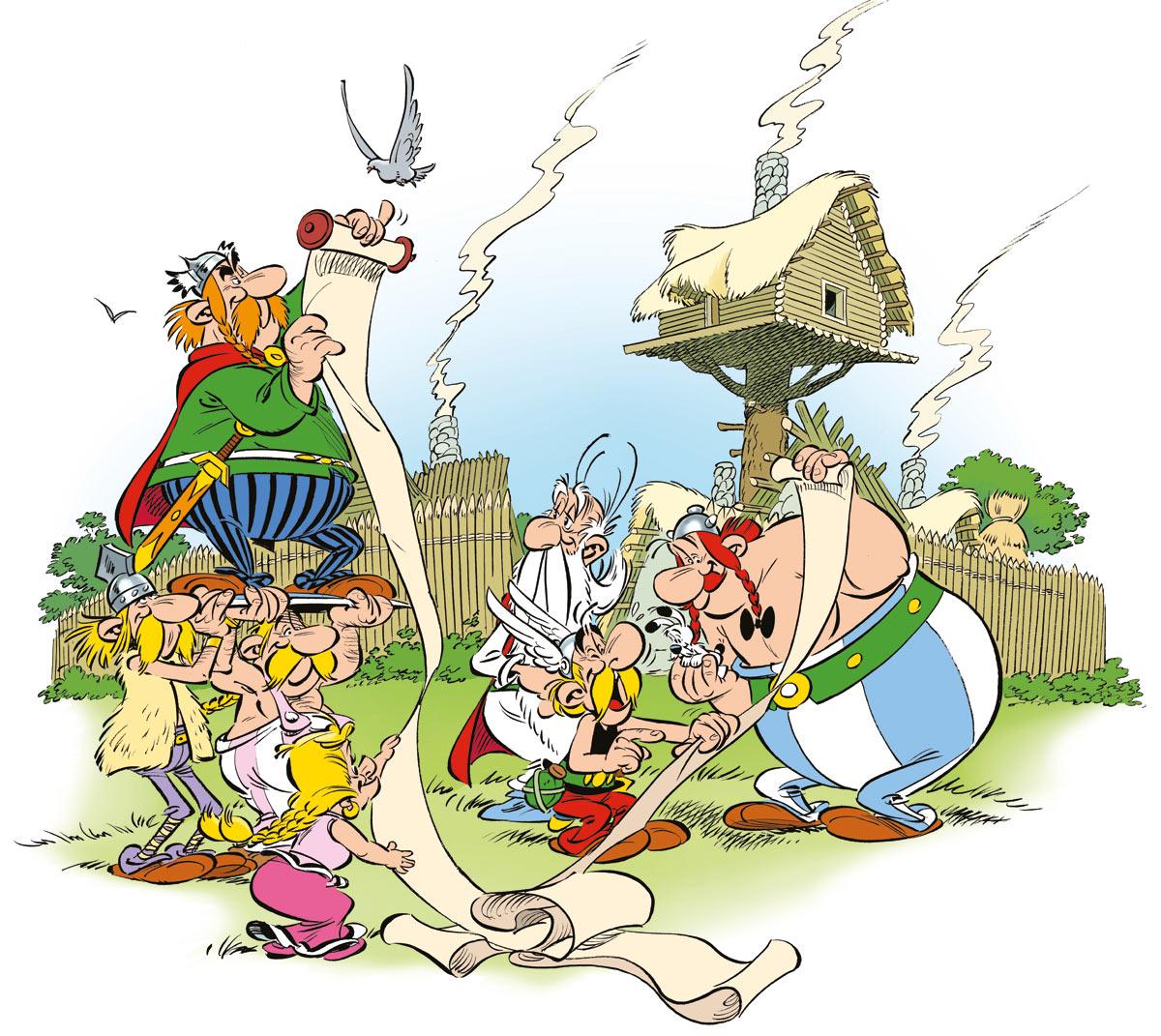 [Análise Retro Game] - Asterix O Desafio de Cesar - PC Asterix_papiro2