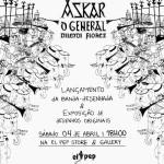BD: Lançamento – Askar, o General ::: Lançamento e exposição de originais dia 4 de Abril na El Pep