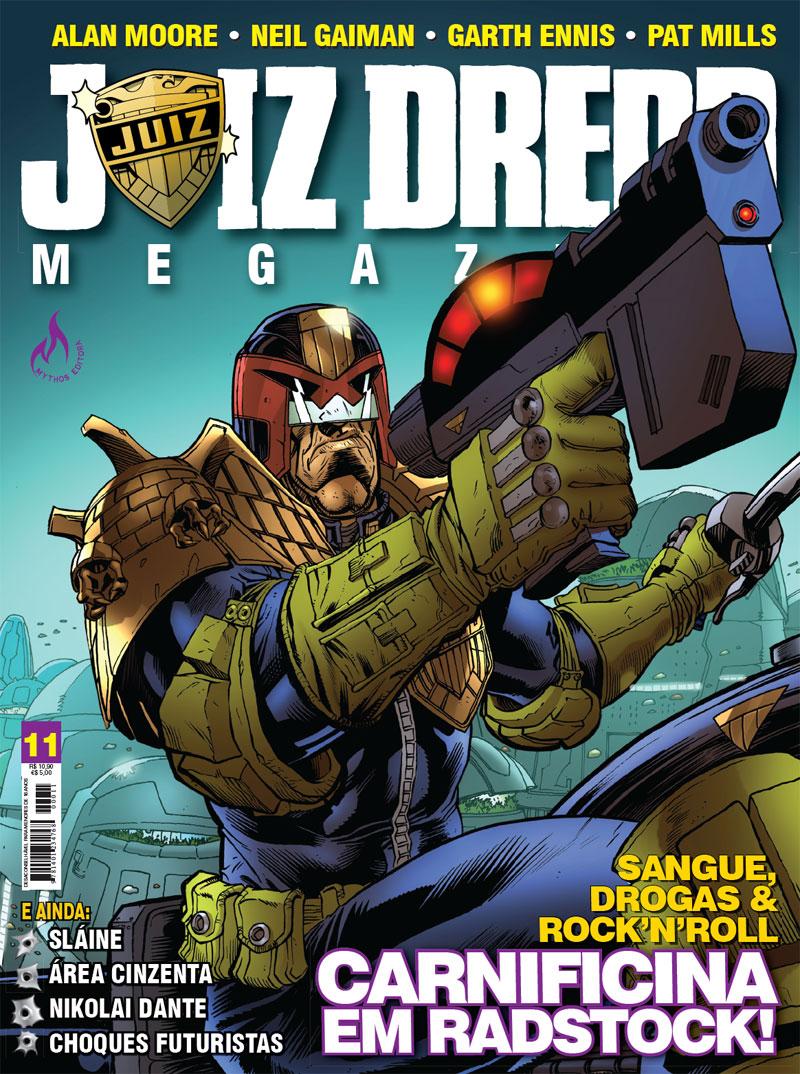 Juiz Dredd Megazine 11