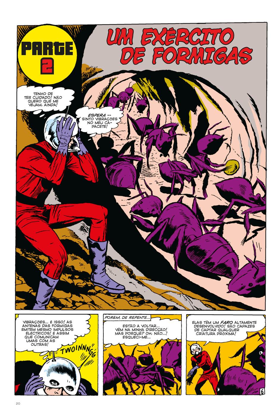 Homem-Formiga: Um Mundo Pequeno