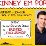Eventos: Jeff Kinney em Portugal!