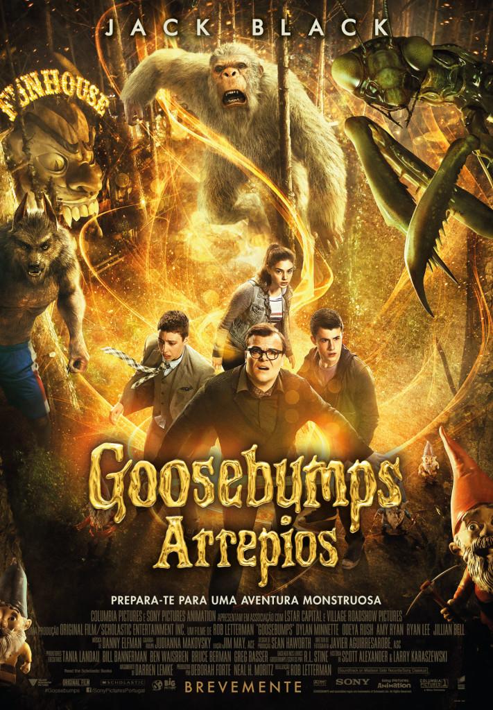 GOOSEBUMPS – ARREPIOS