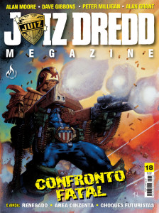 Juiz Dredd Megazine #18
