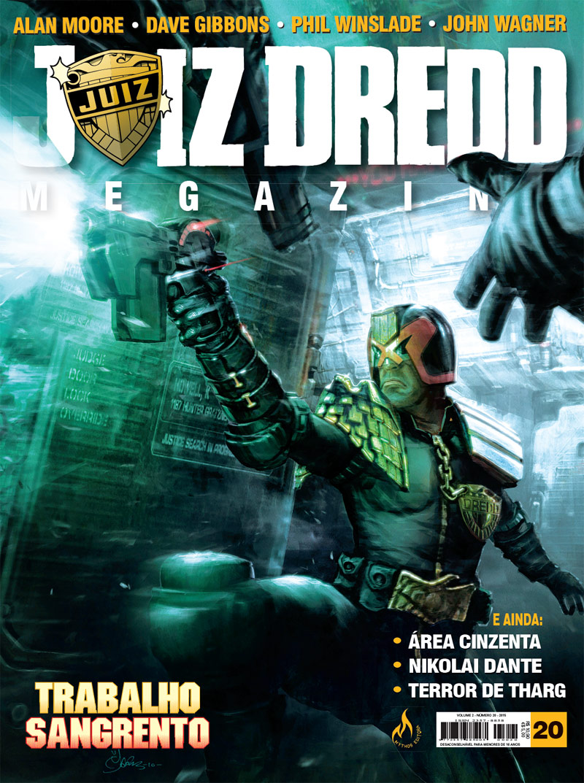 Juiz Dredd Megazine 20