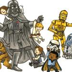 BD: Lançamento – Darth  Vader e amigos