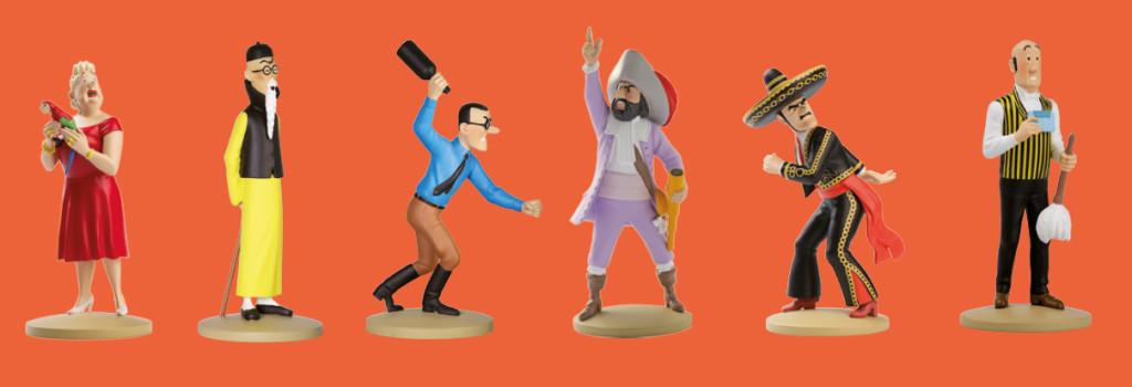 Colecção Oficial Figuras de Tintin