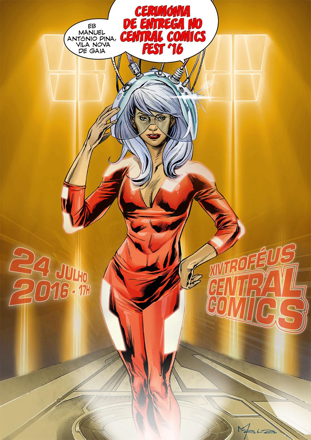 XIV Troféus Central Comics