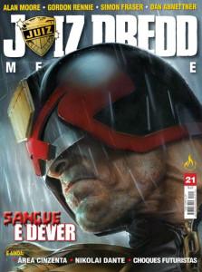 Juiz Dredd Megazine 21