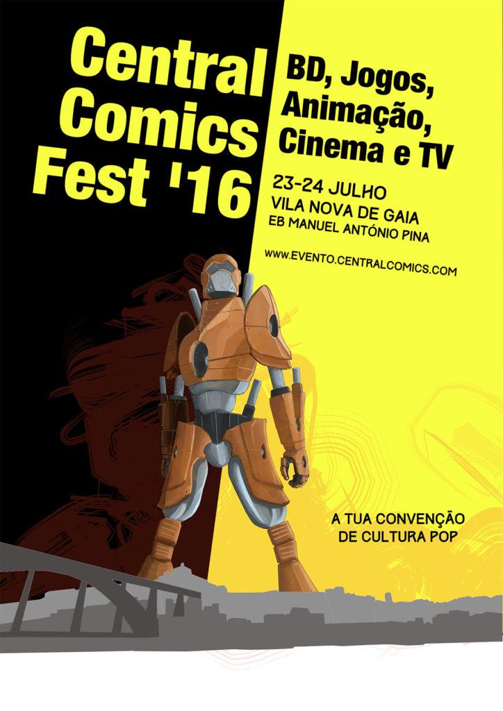 Central Comics Fest 2016 - Poster