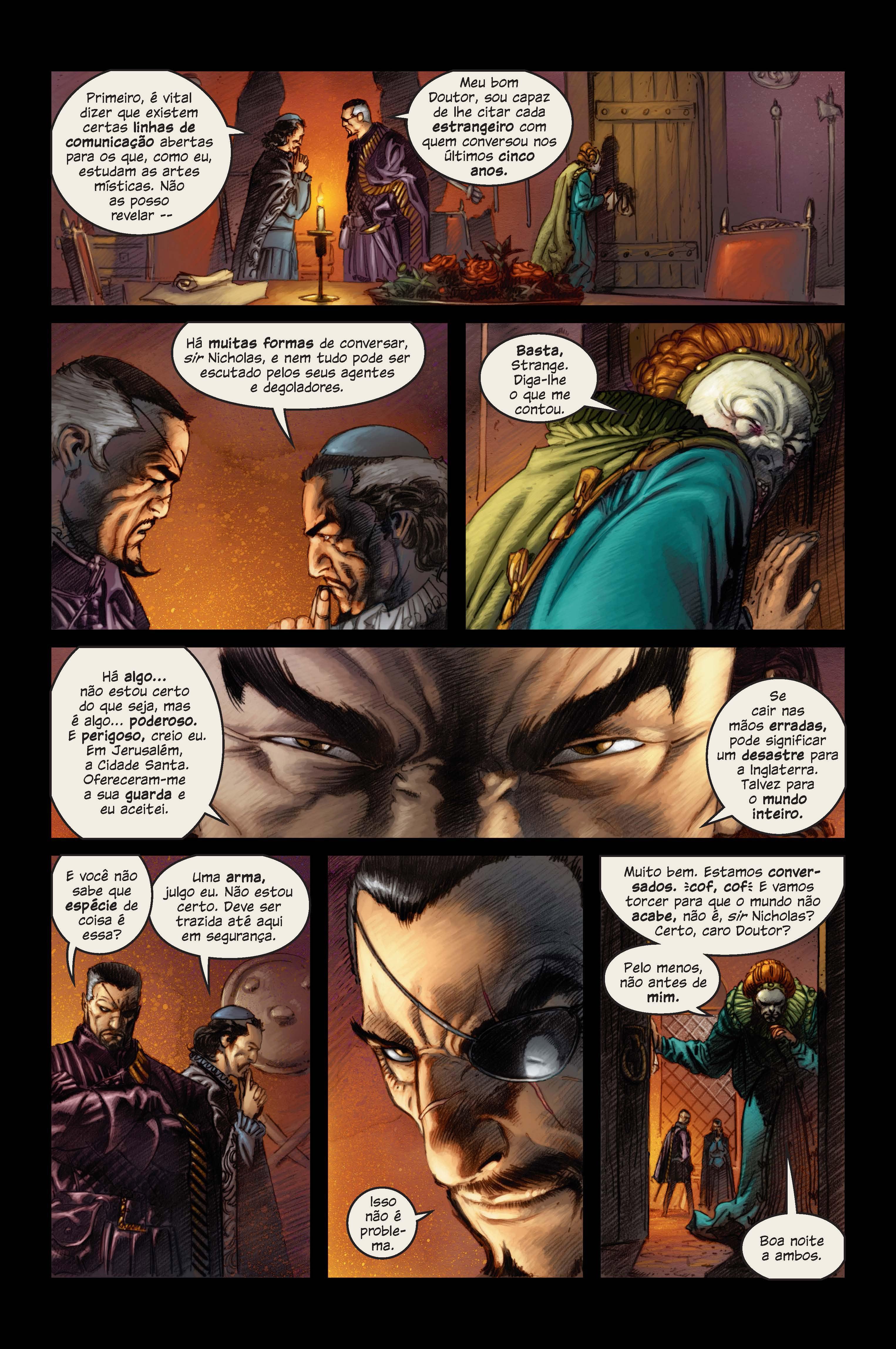 Marvel 1602 página 3