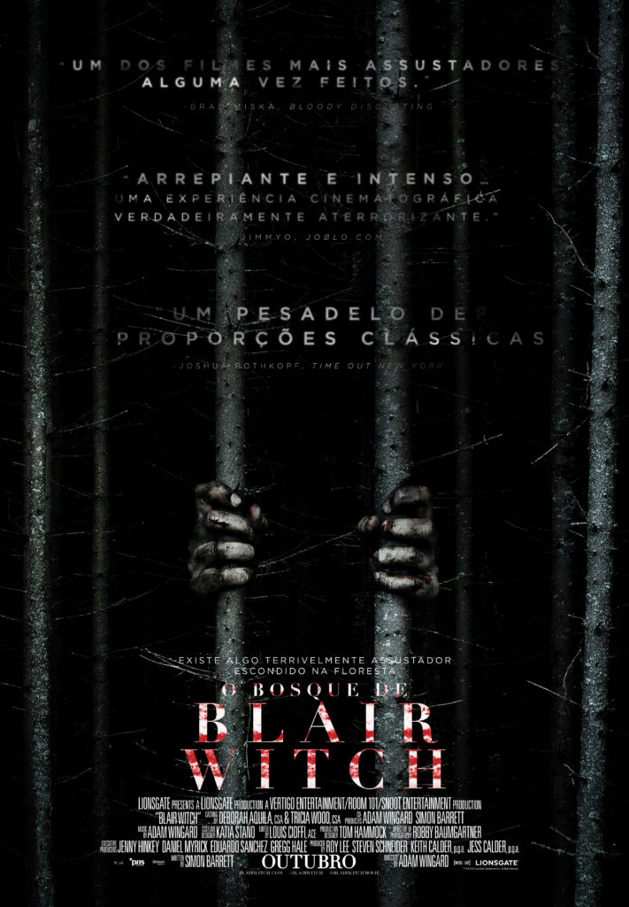 Passatempo antestreia Blair Witch