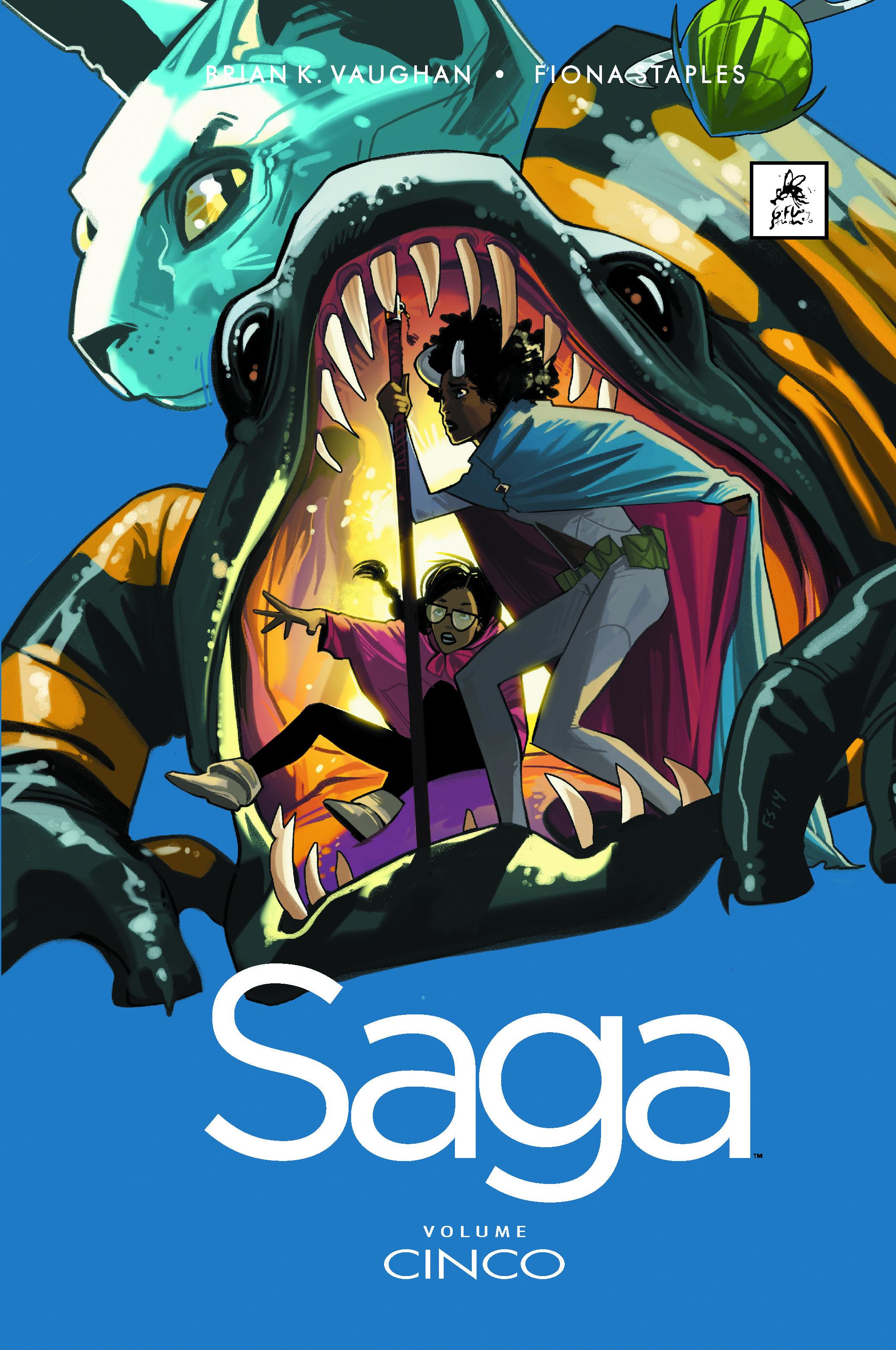 saga volume 5 - capa