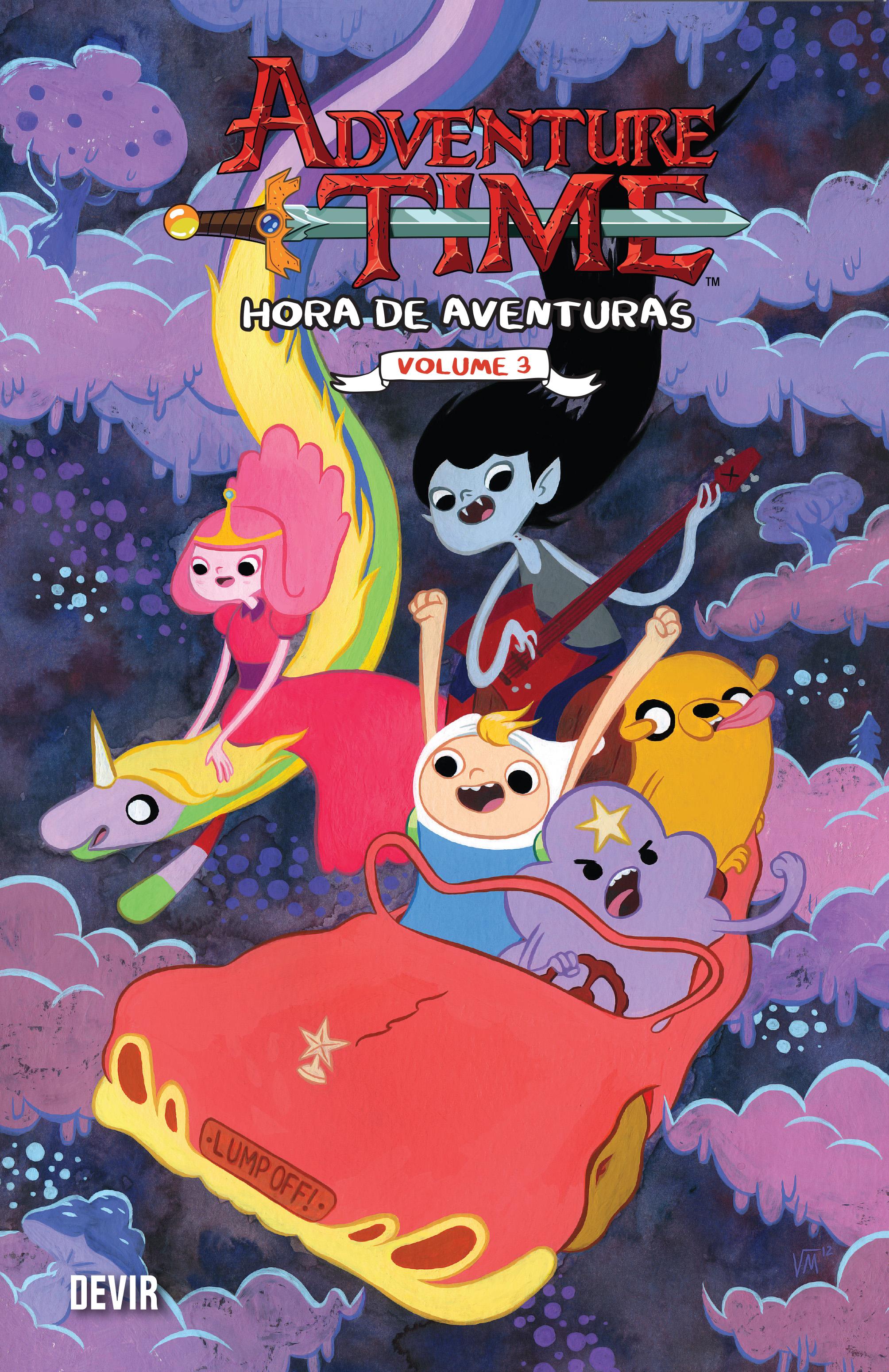 Hora de Aventuras 3 - capa