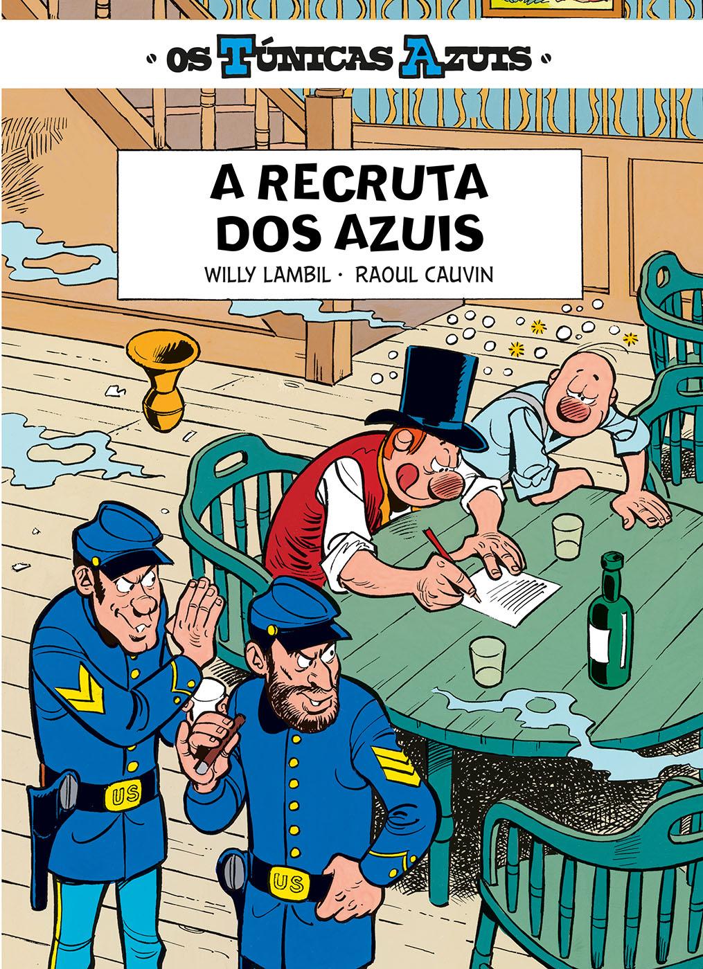 Os Túnicas Azuis 15. A Recruta dos Azuis