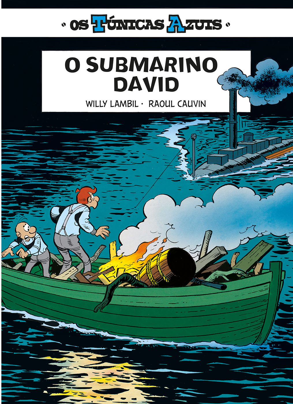 Os Túnicas Azuis 8. O Submarino David