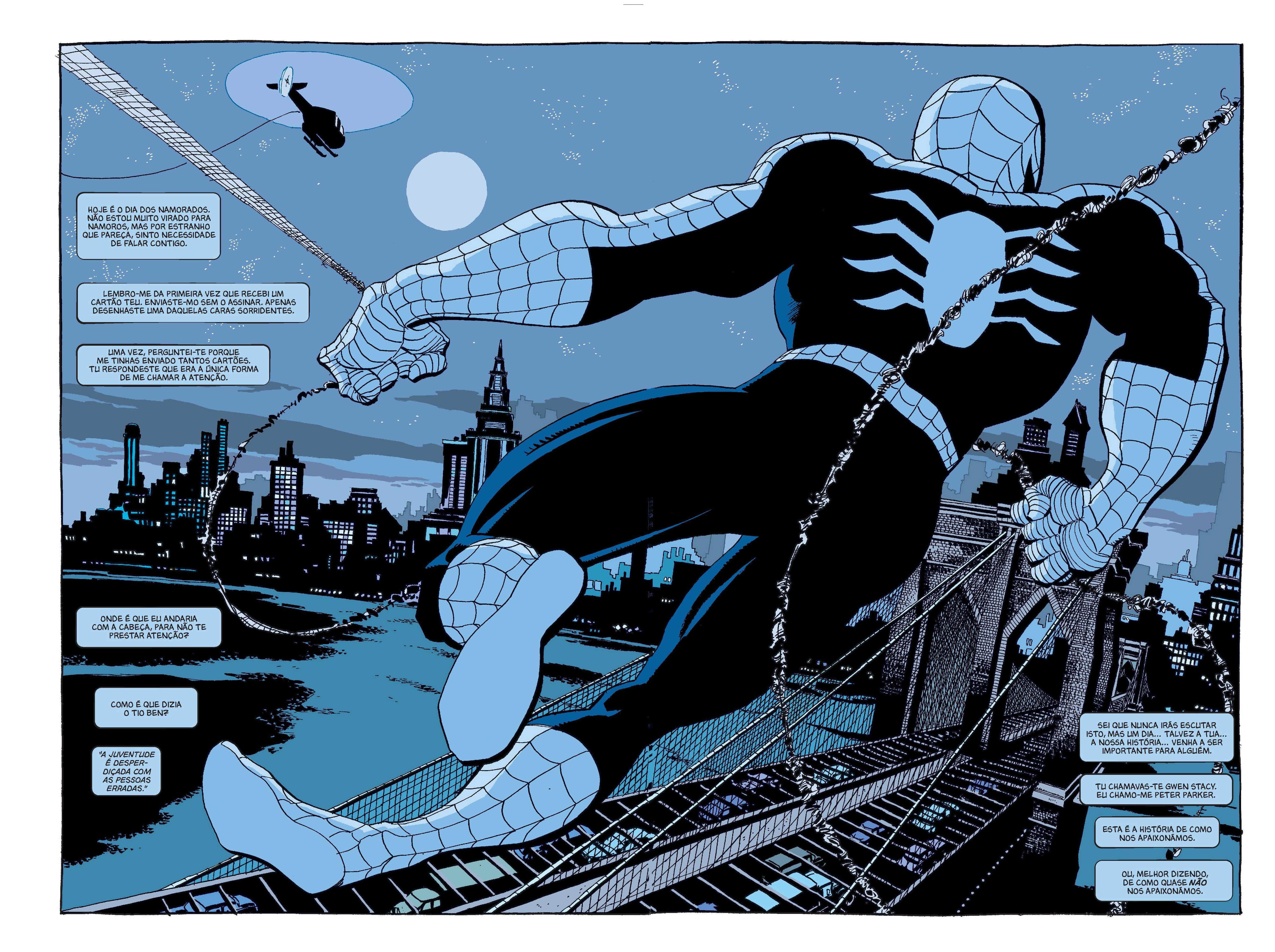 Homem-Aranha Azul 1 Página 2 e 3