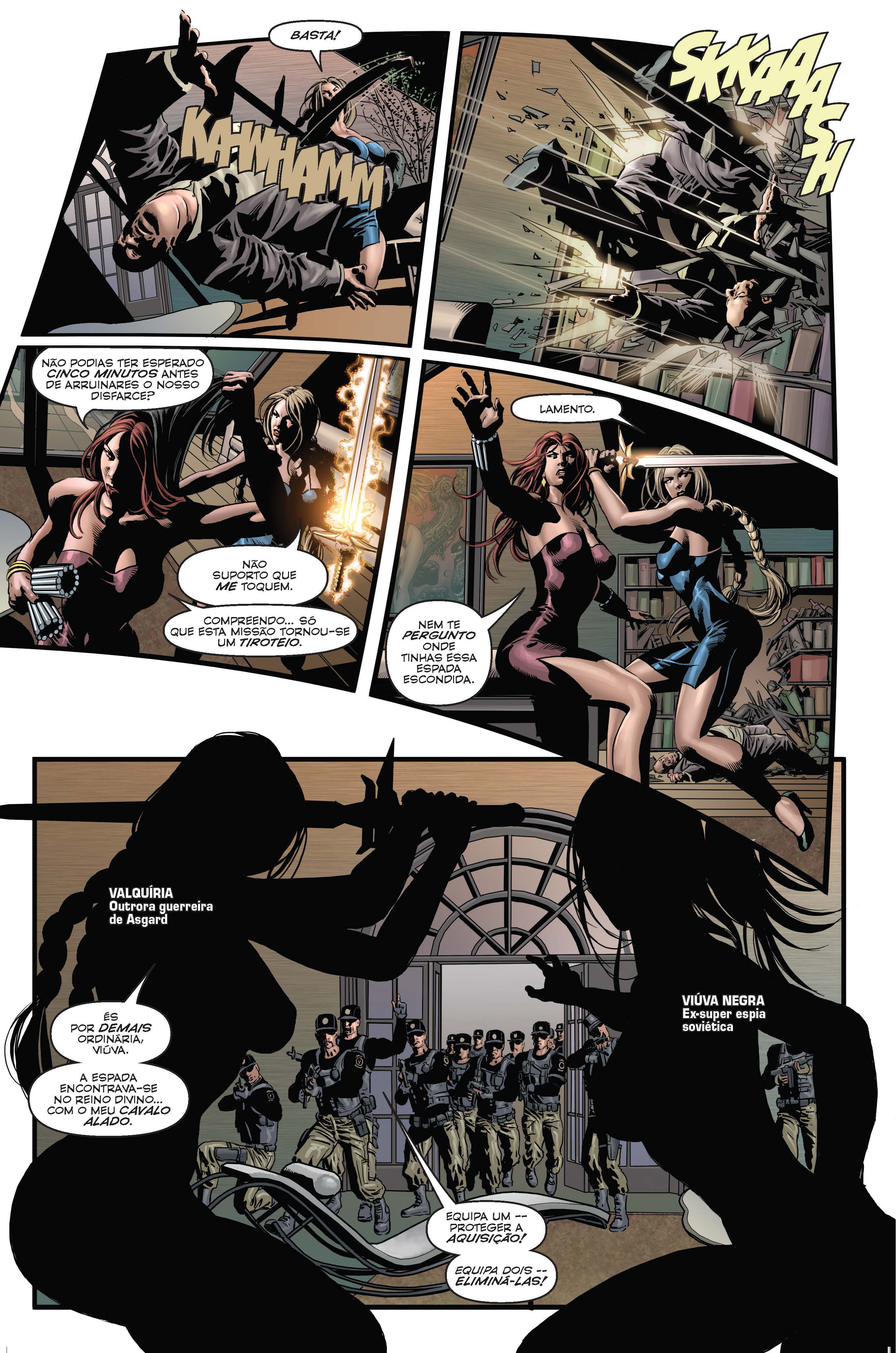 Vingadores Secretos - Missão a Marte  Página 3
