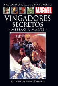 Vingadores Secretos - Missão a Marte Capa