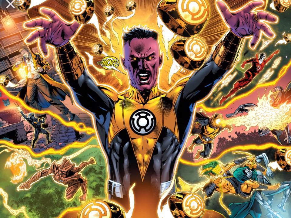 Vol. 3 - Sinestro: A Guerra do Corpo Sinestro 2