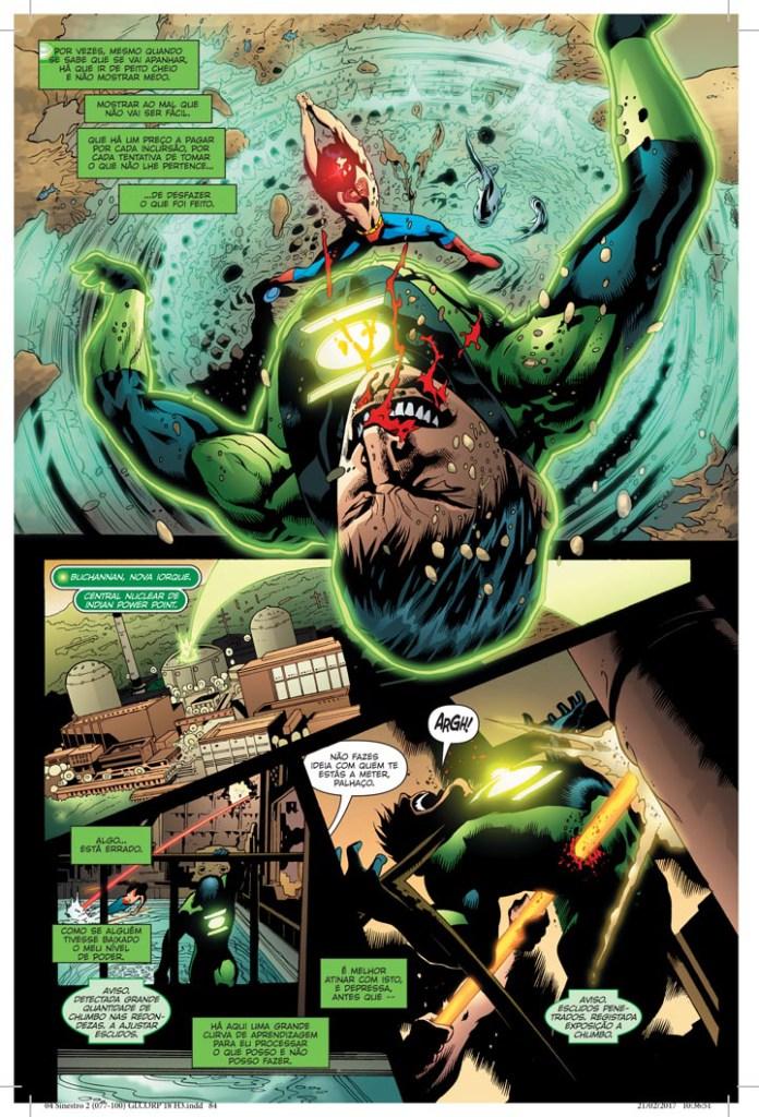 Sinestro: A Guerra do Corpo Sinestro 2