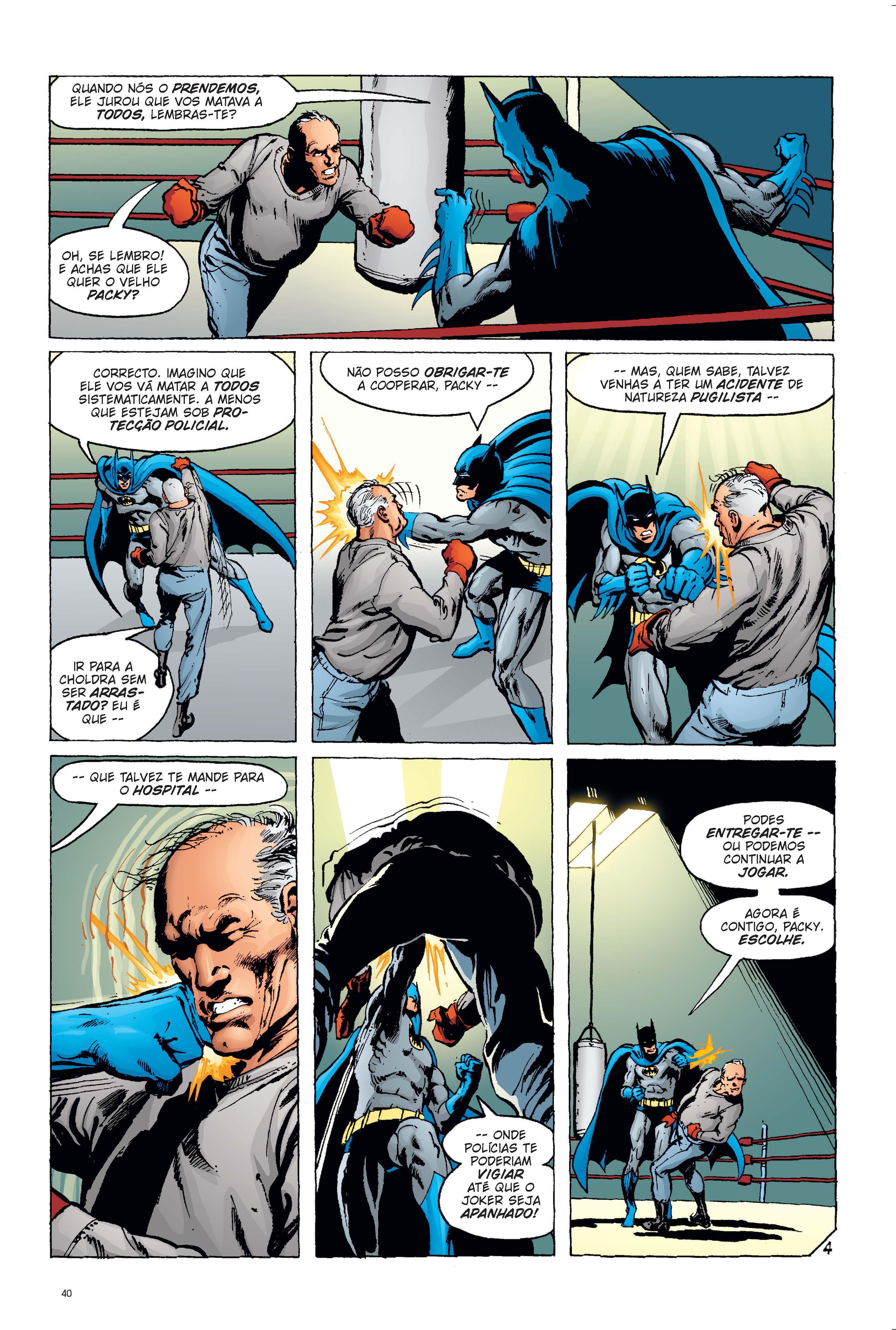 Joker: O Príncipe Palhaço do Crime página 4, DC Comics