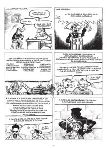 História da Língua em Banda Desenhada Página 33