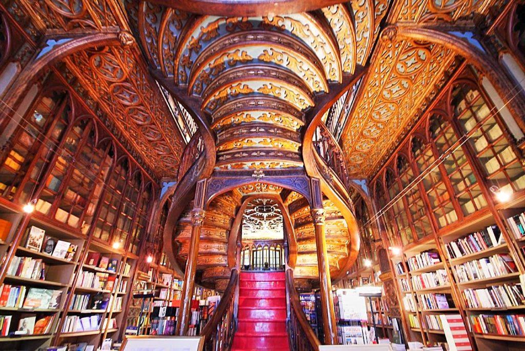 Livraria Lello, no Porto