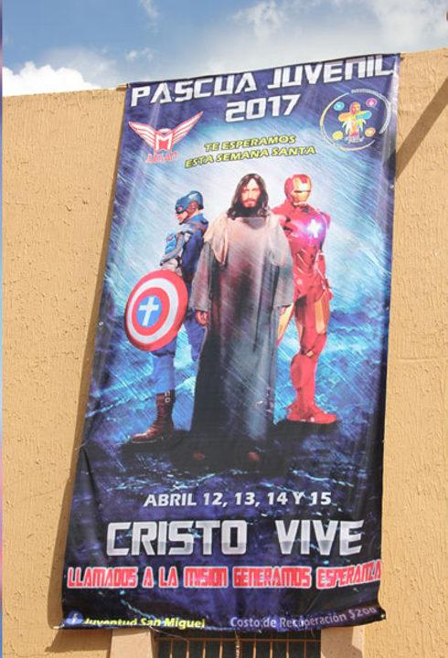 Jesus Cristo com os Vingadores