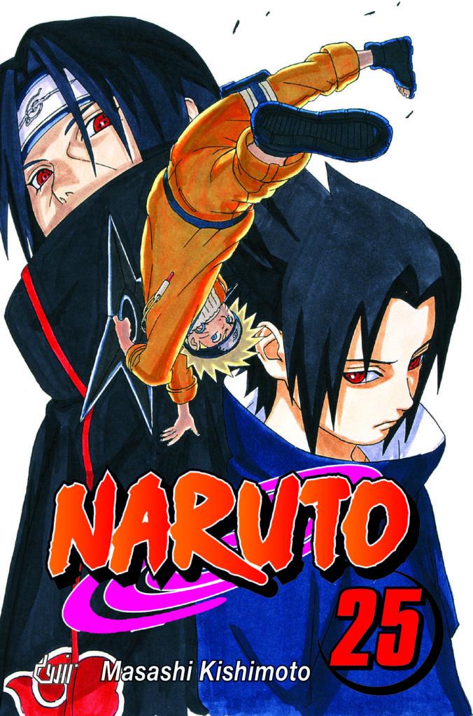 NARUTO — VOLUME 25
