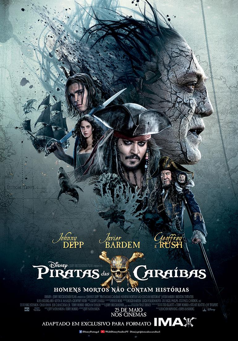 Piratas das Caraíbas: Homens Mortos não Contam Histórias